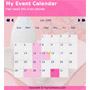 flash event calendar