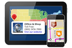 making interactive html5 maps for smartphones and tablets, iphone, ipad, android